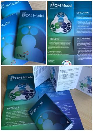 EFQM Model Popup - Pack of 10