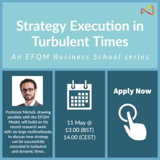 Strategy Execution in Turbulent Times - Webinar
