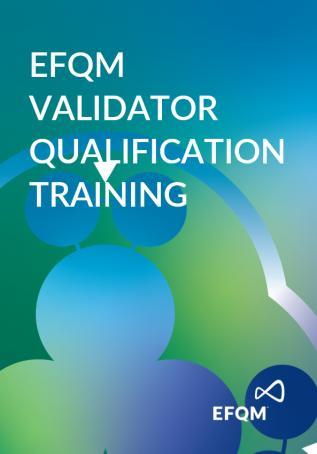 EFQM Validator Qualification Online Training